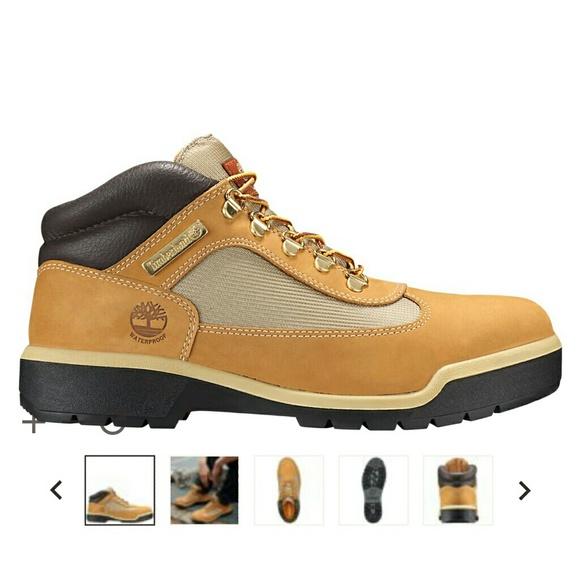 Mens Timberland Waterproof Field Boots